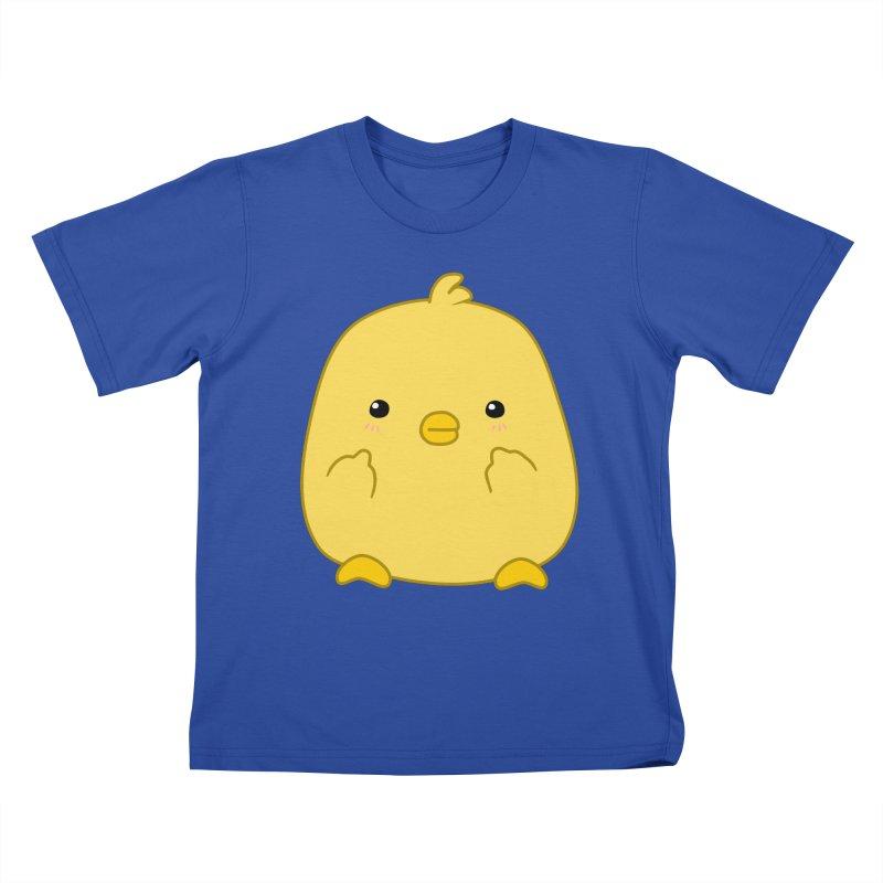 Cute Chick Has Had Enough Kids T-Shirt by oneweirddude's Artist Shop