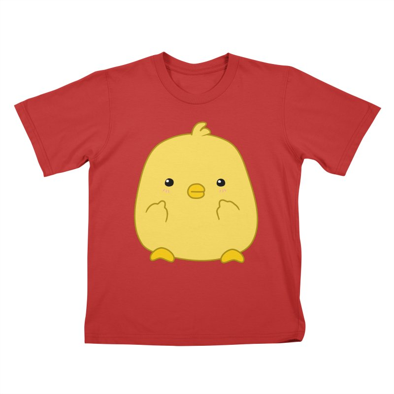 Cute Chick Has Had Enough Kids T-Shirt by oneweirddude's Artist Shop