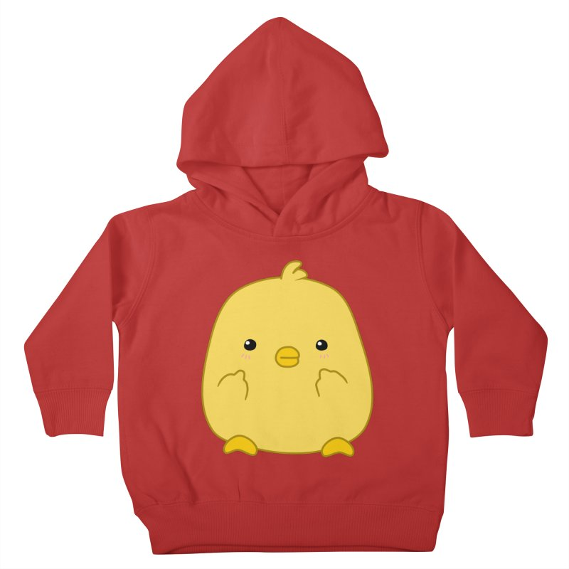 Cute Chick Has Had Enough Kids Toddler Pullover Hoody by oneweirddude's Artist Shop