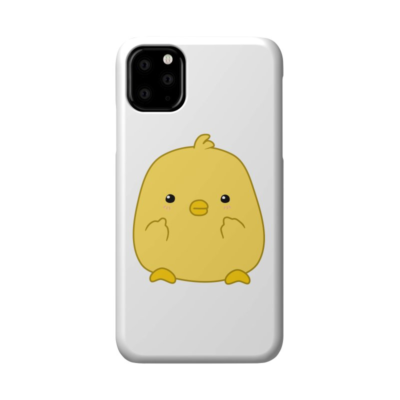 Cute Chick Has Had Enough Accessories Phone Case by oneweirddude's Artist Shop