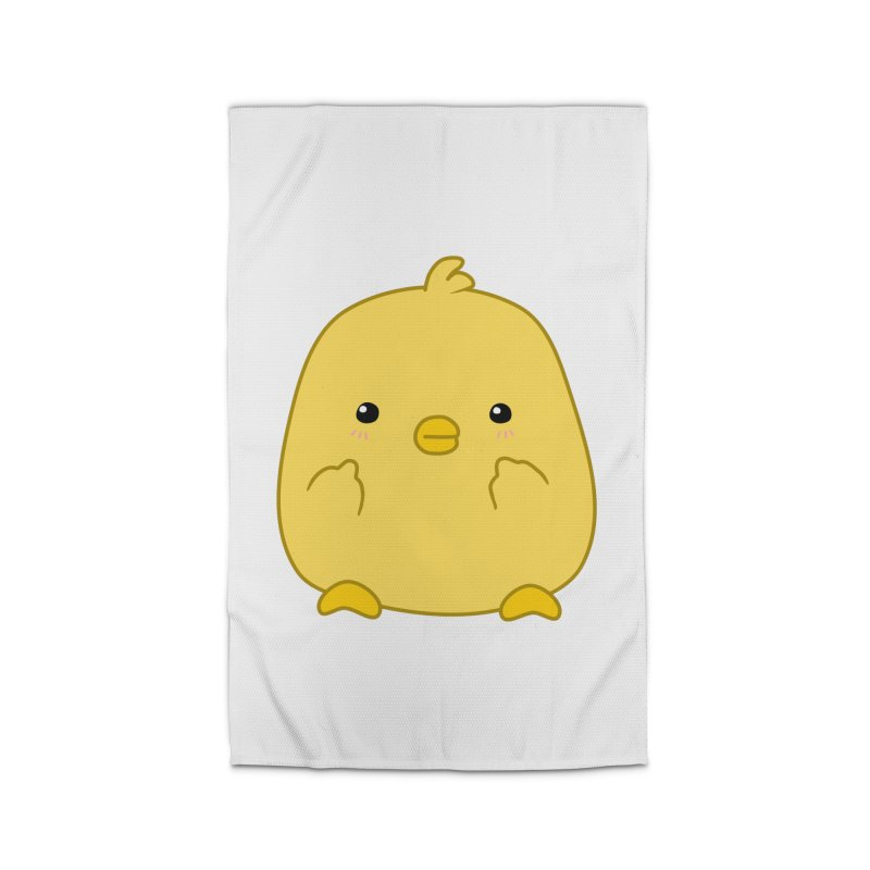 Cute Chick Has Had Enough Home Rug by oneweirddude's Artist Shop