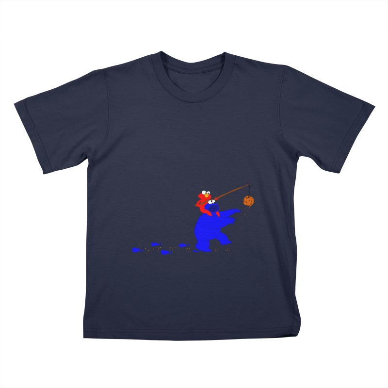 Cookie Monster Zombie Kids Toddler T-Shirt by oneweirddude's Artist Shop