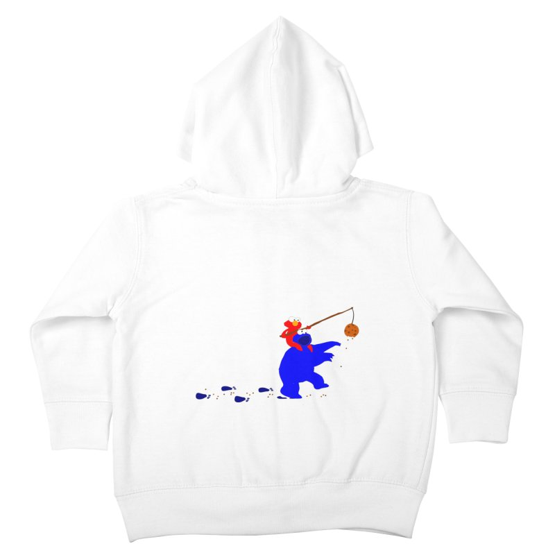 Cookie Monster Zombie v2 Kids Toddler Zip-Up Hoody by oneweirddude's Artist Shop