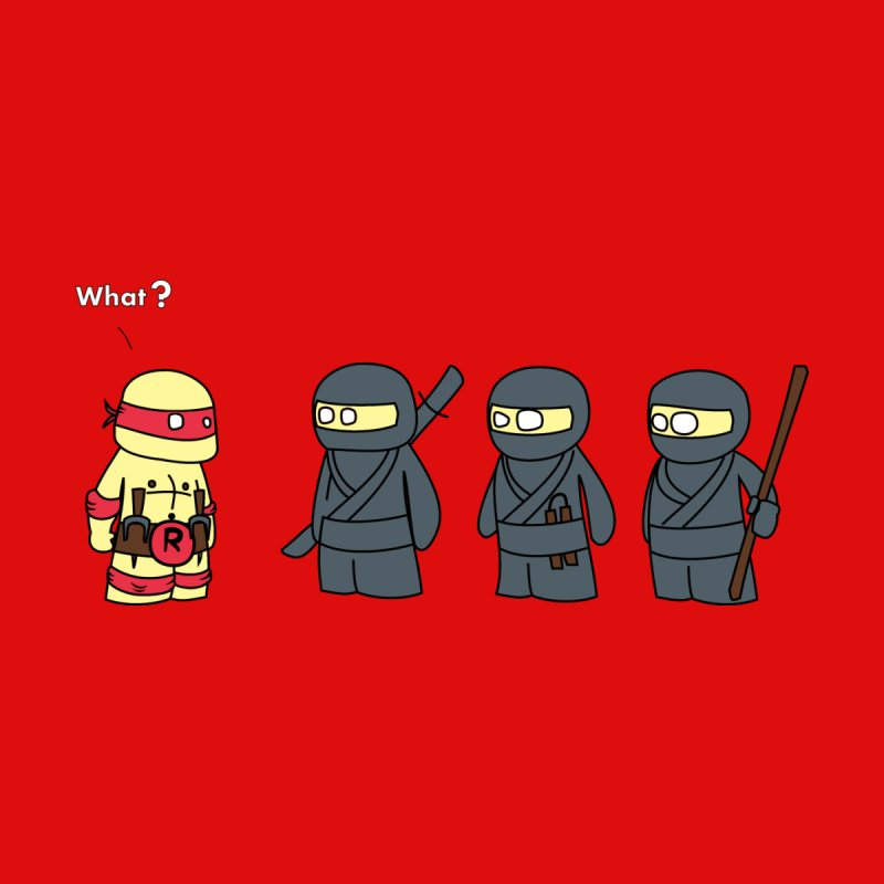 Not Proper Ninja Attire   by oneweirddude's Artist Shop