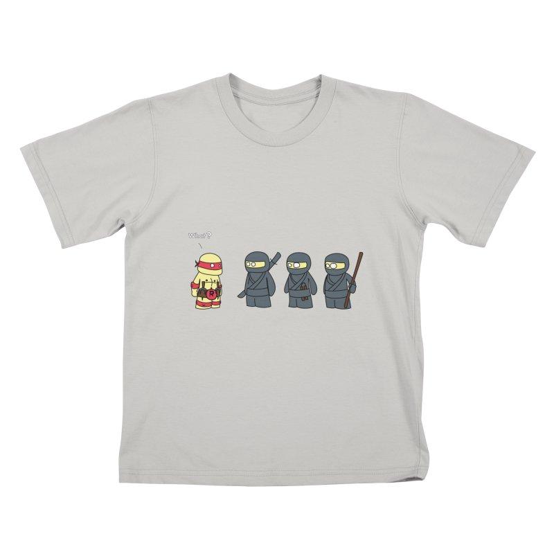 Not Proper Ninja Attire   by oneweirddude's Artist Shop