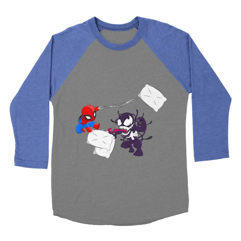 Spiderman and Venom have a Pillow Fight   by oneweirddude's Artist Shop