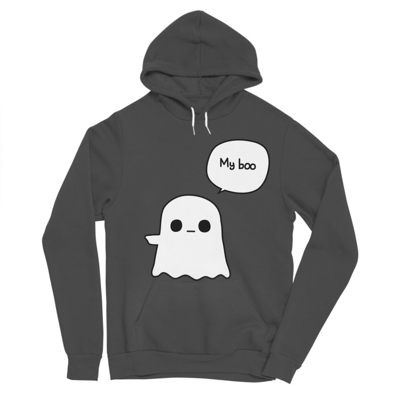 My Boo (Left) Women's Sponge Fleece Pullover Hoody by oneweirddude's Artist Shop