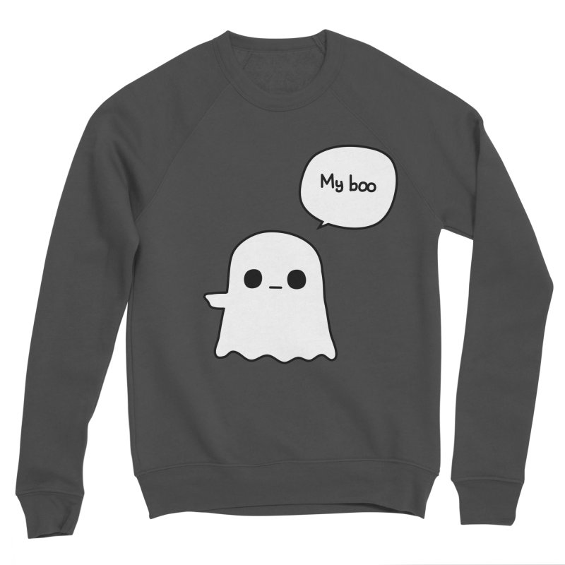 My Boo (Left) Men's Sponge Fleece Sweatshirt by oneweirddude's Artist Shop