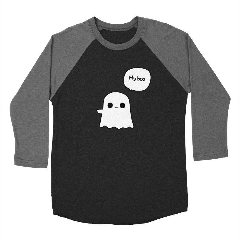 My Boo (Left) Women's Longsleeve T-Shirt by oneweirddude's Artist Shop