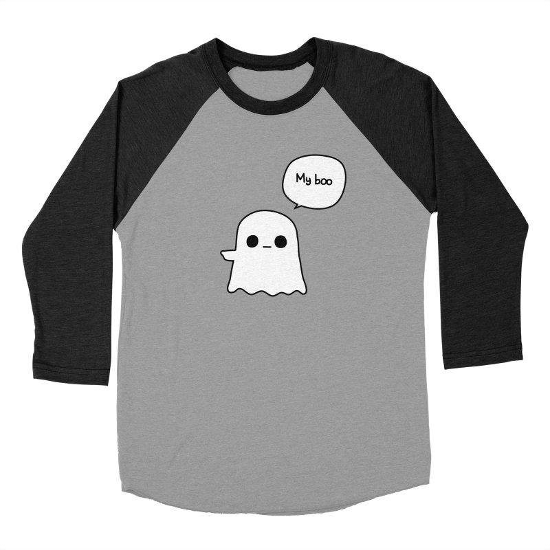 My Boo (Left) Women's Baseball Triblend Longsleeve T-Shirt by oneweirddude's Artist Shop