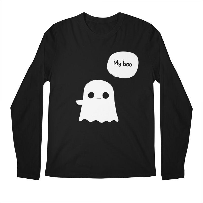 My Boo (Left) Men's Regular Longsleeve T-Shirt by oneweirddude's Artist Shop