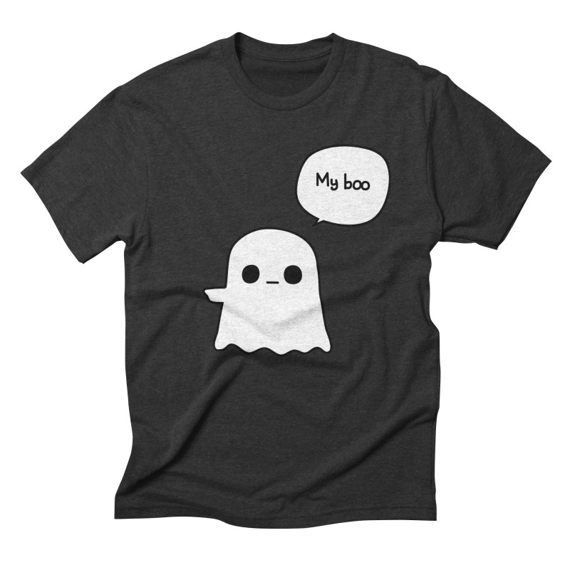 My Boo (Left) Men's Triblend T-Shirt by oneweirddude's Artist Shop