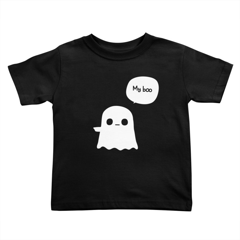 My Boo (Left) Kids Toddler T-Shirt by oneweirddude's Artist Shop