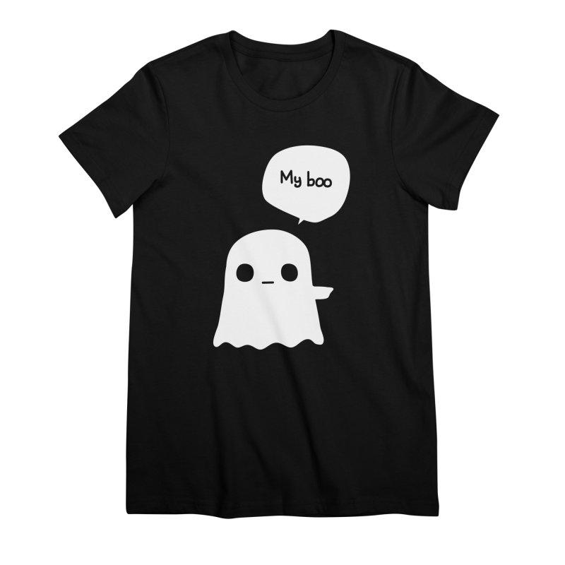 My Boo (Right) Women's Premium T-Shirt by oneweirddude's Artist Shop