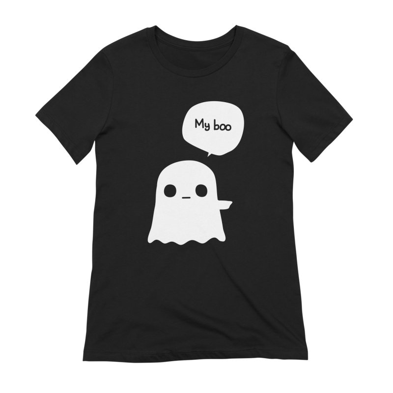 My Boo (Right) Women's Extra Soft T-Shirt by oneweirddude's Artist Shop