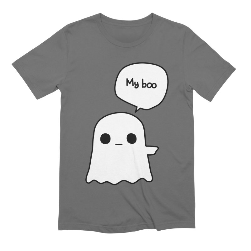 My Boo (Right) Men's Extra Soft T-Shirt by oneweirddude's Artist Shop