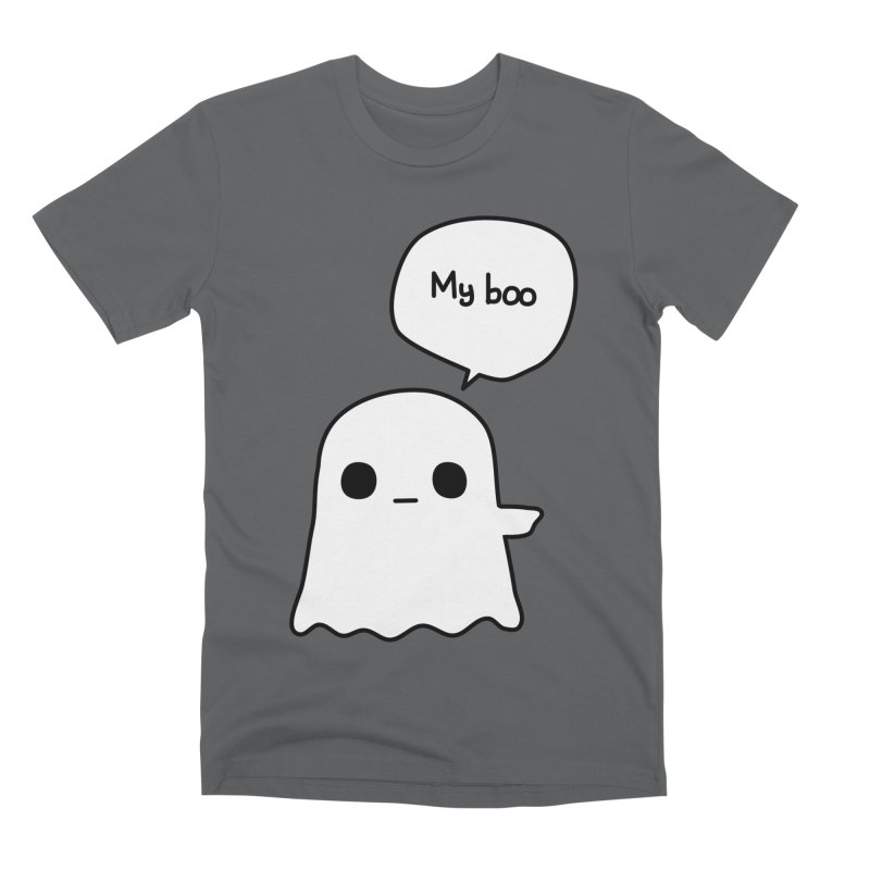 My Boo (Right) Men's Premium T-Shirt by oneweirddude's Artist Shop