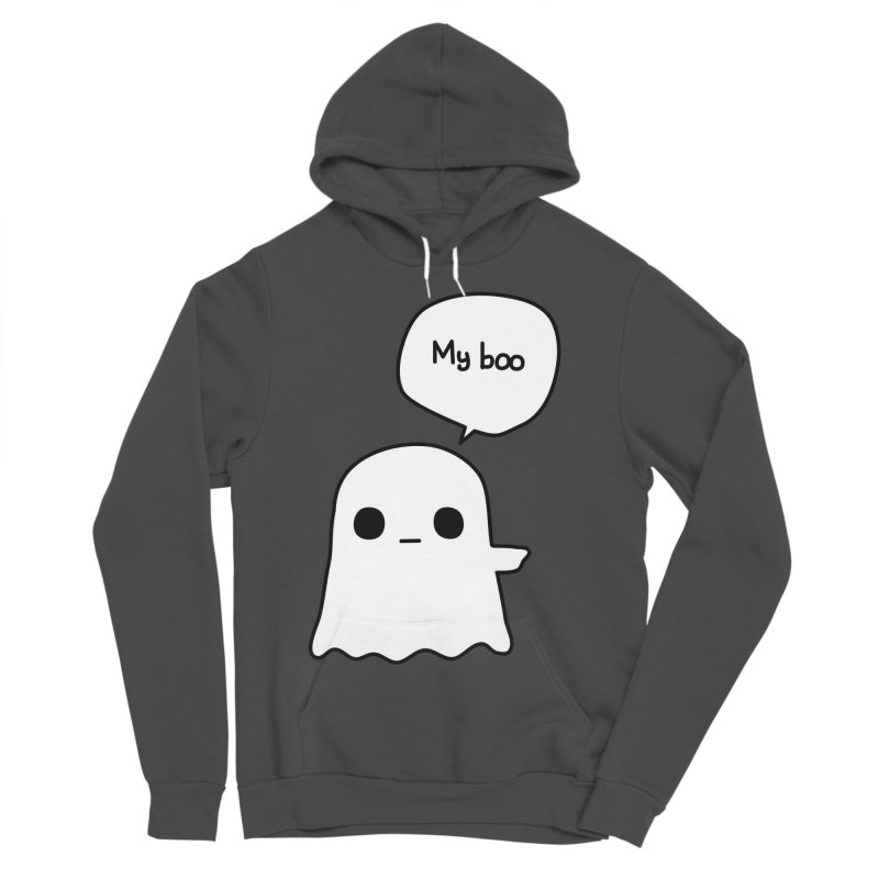 My Boo (Right) Women's Sponge Fleece Pullover Hoody by oneweirddude's Artist Shop