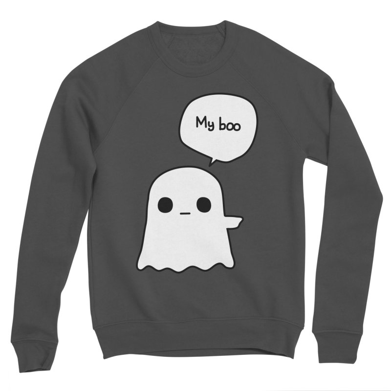 My Boo (Right) Men's Sponge Fleece Sweatshirt by oneweirddude's Artist Shop
