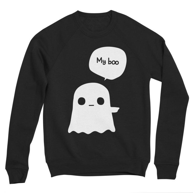 My Boo (Right) Women's Sponge Fleece Sweatshirt by oneweirddude's Artist Shop