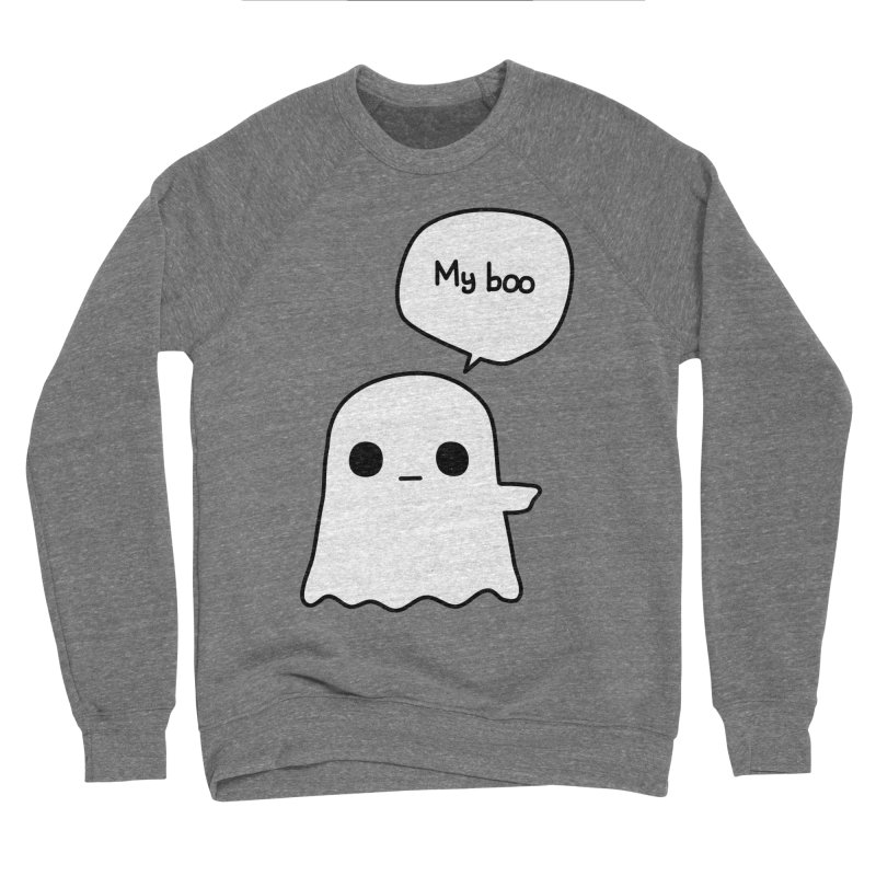 My Boo (Right) Women's Sponge Fleece Sweatshirt by oneweirddude's Artist Shop