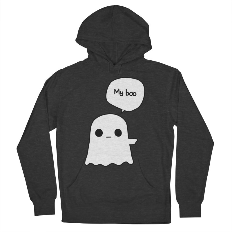 My Boo (Right) Men's Pullover Hoody by oneweirddude's Artist Shop