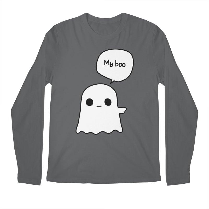 My Boo (Right) Men's Longsleeve T-Shirt by oneweirddude's Artist Shop