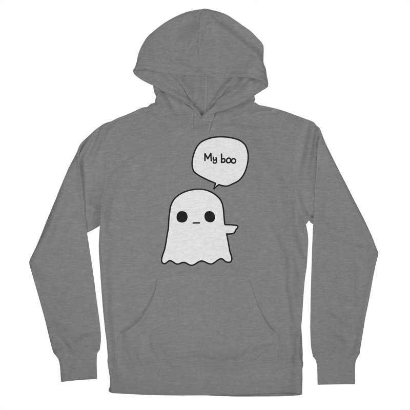 My Boo (Right) Men's French Terry Pullover Hoody by oneweirddude's Artist Shop