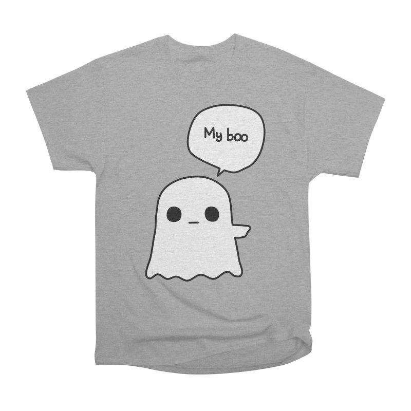 My Boo (Right) Men's Heavyweight T-Shirt by oneweirddude's Artist Shop