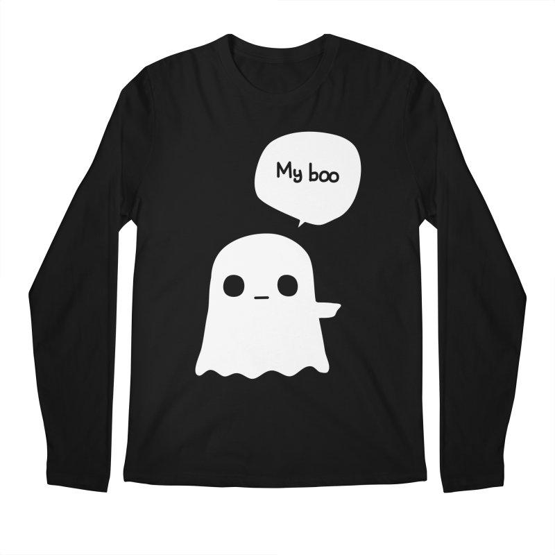 My Boo (Right) Men's Regular Longsleeve T-Shirt by oneweirddude's Artist Shop