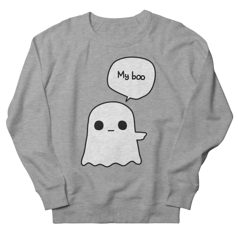 My Boo (Right) Men's French Terry Sweatshirt by oneweirddude's Artist Shop