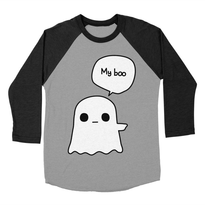 My Boo (Right) Women's Baseball Triblend Longsleeve T-Shirt by oneweirddude's Artist Shop