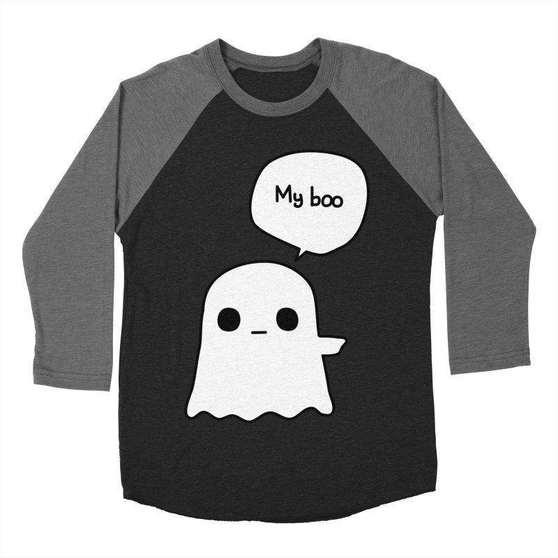 My Boo (Right) Men's Baseball Triblend Longsleeve T-Shirt by oneweirddude's Artist Shop
