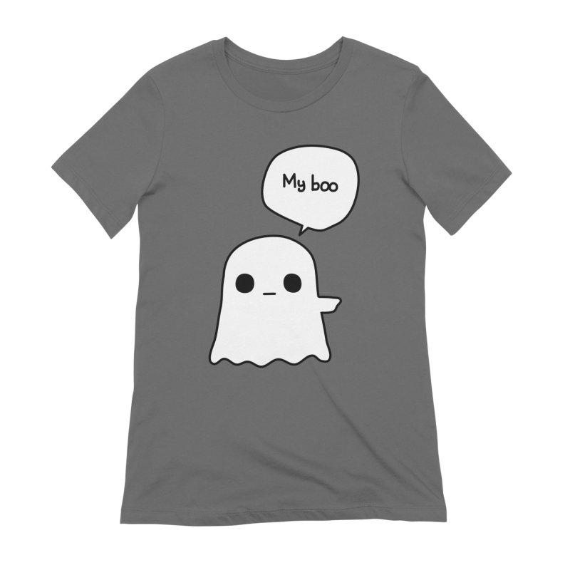 My Boo (Right) Women's T-Shirt by oneweirddude's Artist Shop