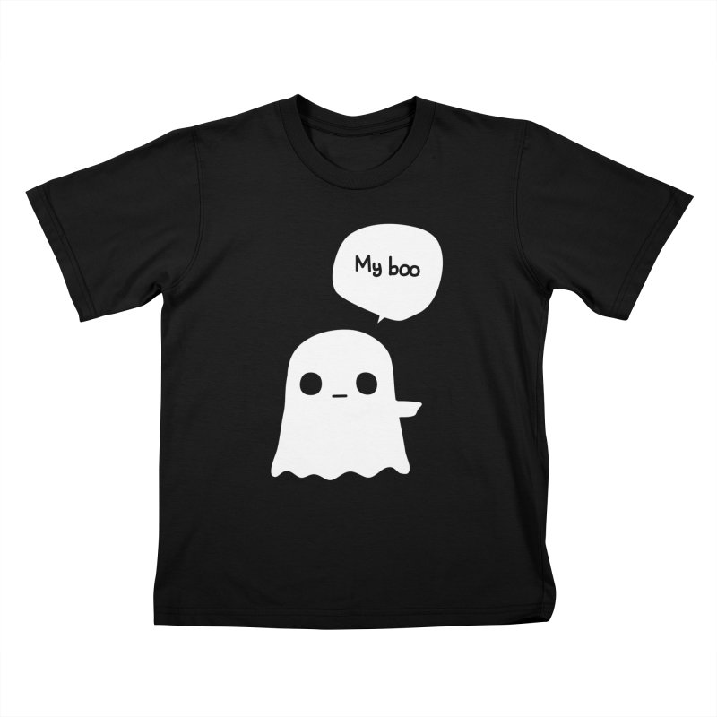 My Boo (Right) Kids T-Shirt by oneweirddude's Artist Shop
