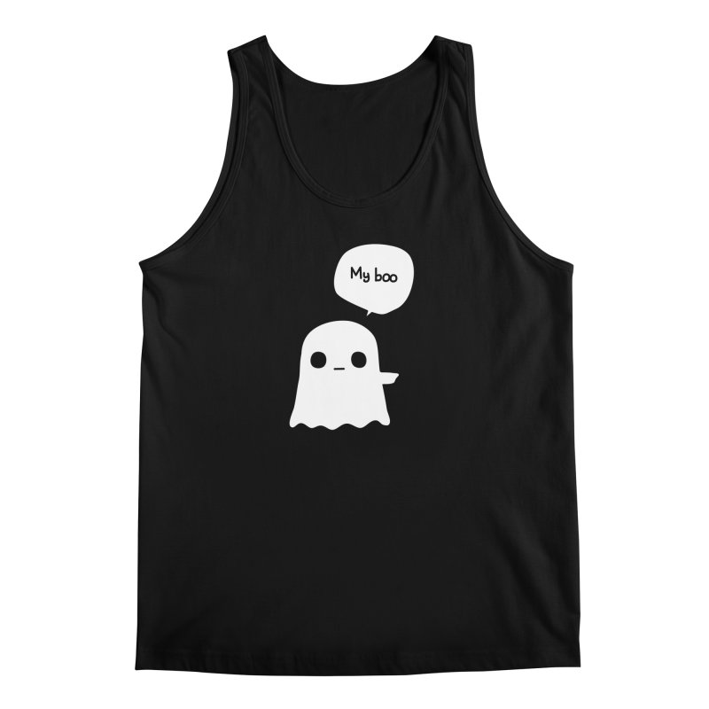 My Boo (Right) Men's Tank by oneweirddude's Artist Shop