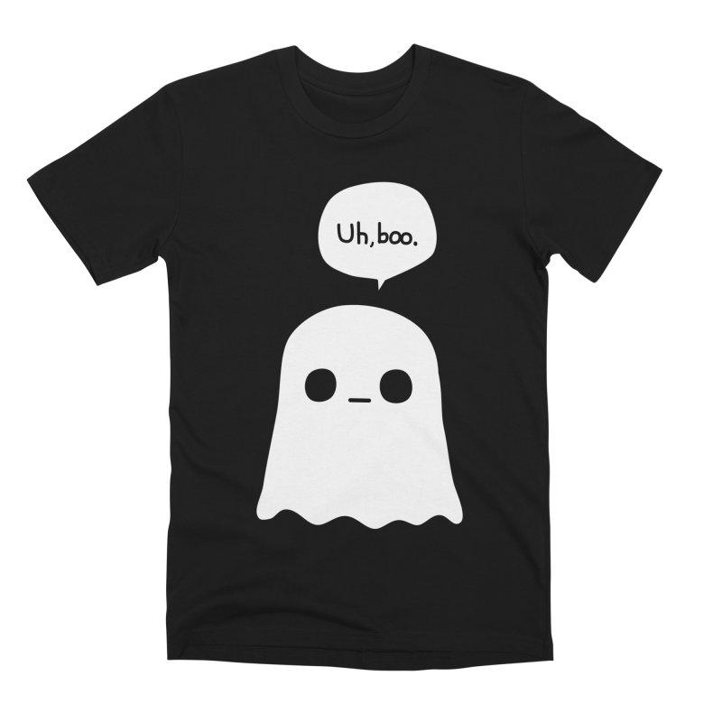 Awkward Ghost Men's Premium T-Shirt by oneweirddude's Artist Shop