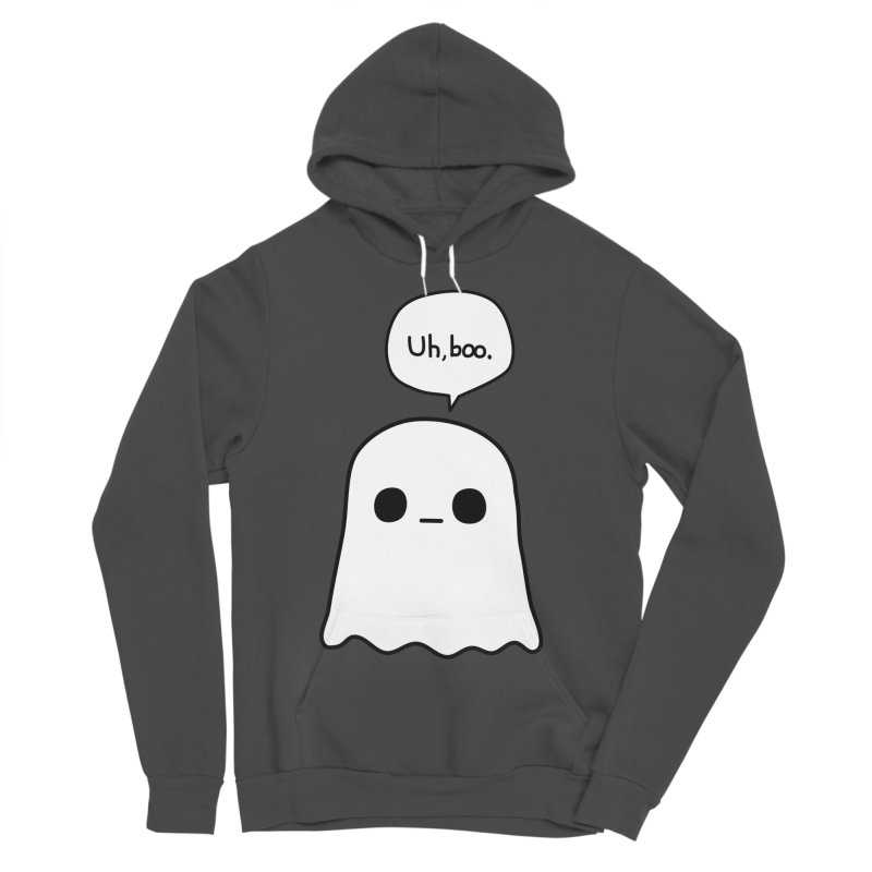 Awkward Ghost Women's Sponge Fleece Pullover Hoody by oneweirddude's Artist Shop