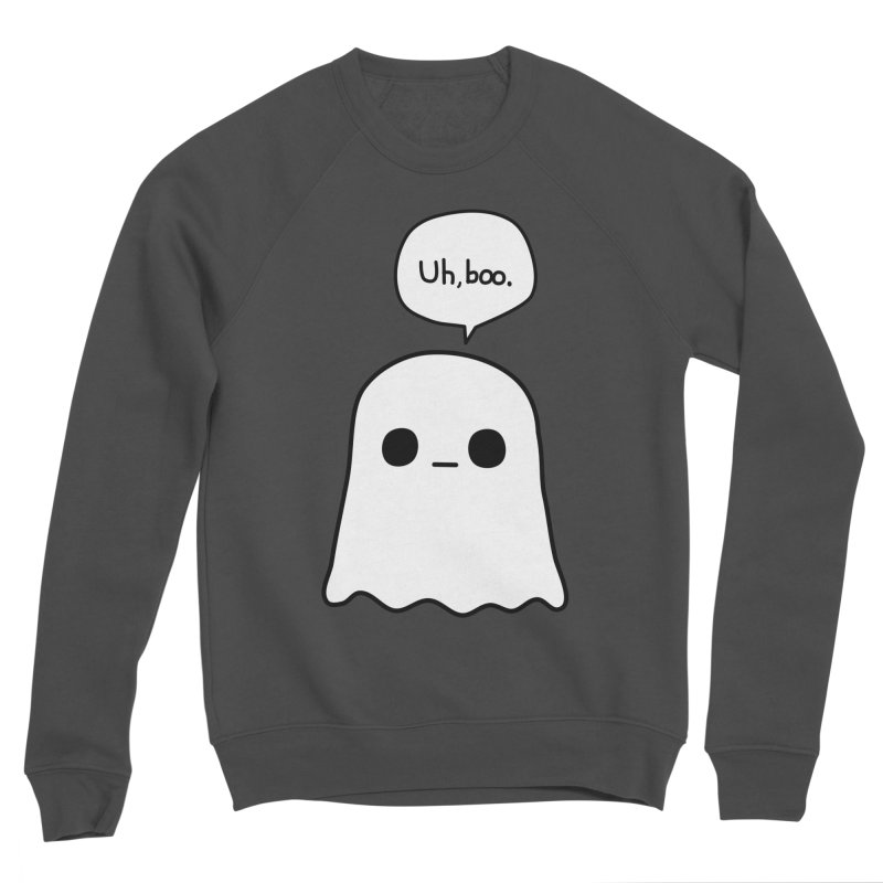 Awkward Ghost Women's Sponge Fleece Sweatshirt by oneweirddude's Artist Shop