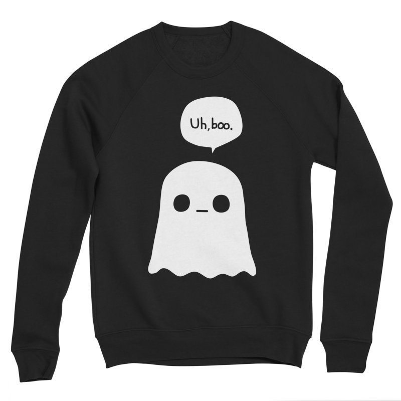 Awkward Ghost Men's Sponge Fleece Sweatshirt by oneweirddude's Artist Shop
