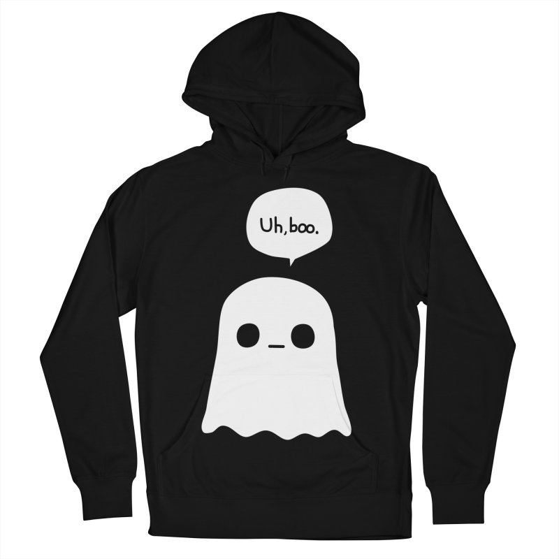 Awkward Ghost Women's French Terry Pullover Hoody by oneweirddude's Artist Shop