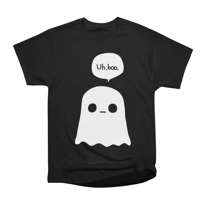 Awkward Ghost Men's Heavyweight T-Shirt by oneweirddude's Artist Shop
