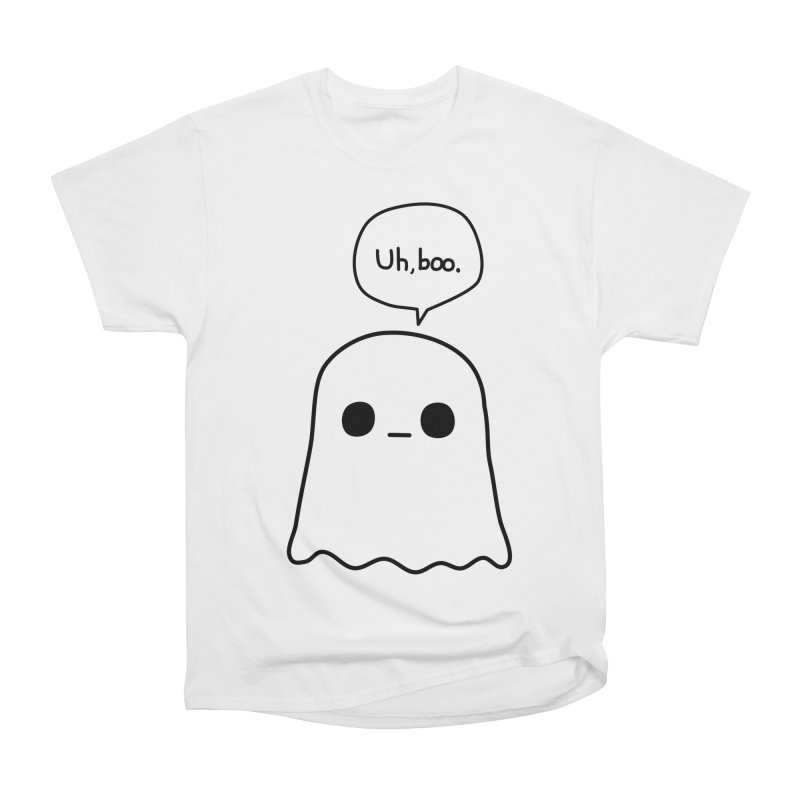 Awkward Ghost Women's Heavyweight Unisex T-Shirt by oneweirddude's Artist Shop