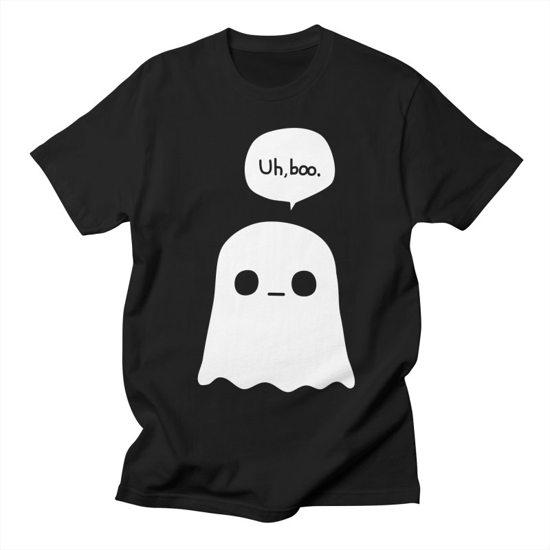 Awkward Ghost Women's Regular Unisex T-Shirt by oneweirddude's Artist Shop
