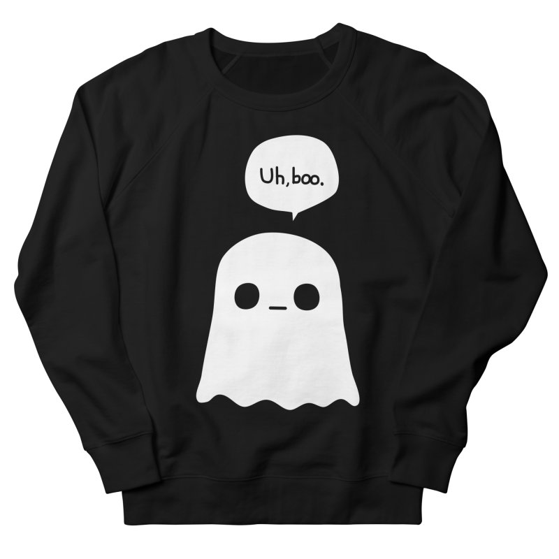 Awkward Ghost Women's French Terry Sweatshirt by oneweirddude's Artist Shop