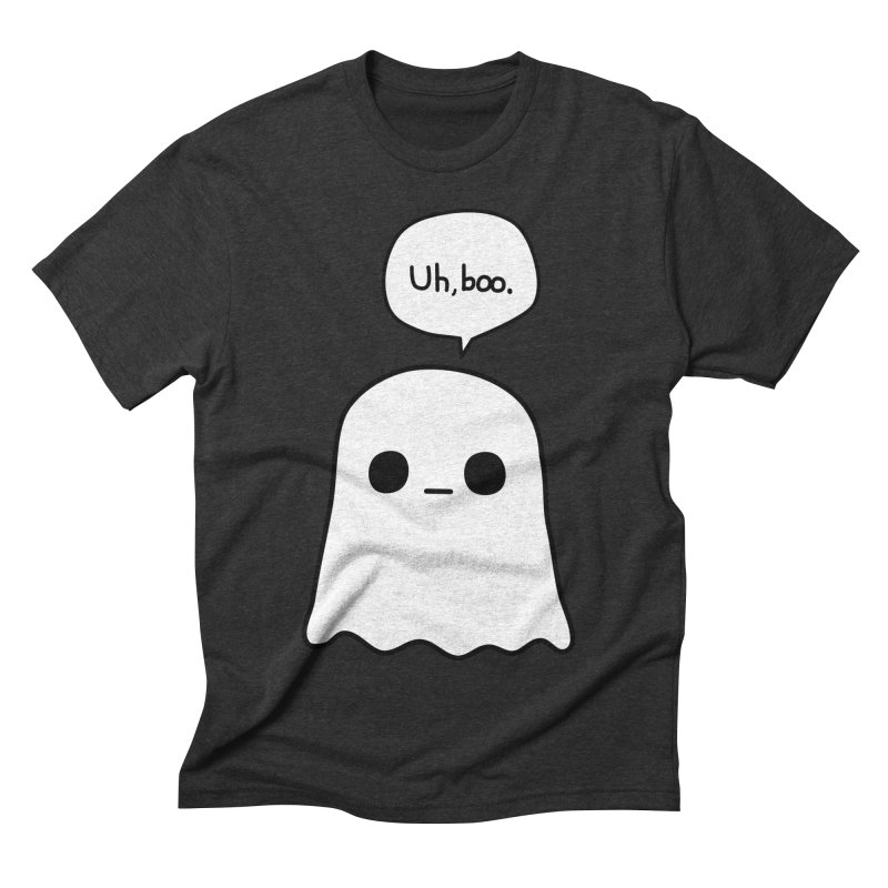 Awkward Ghost Men's Triblend T-Shirt by oneweirddude's Artist Shop