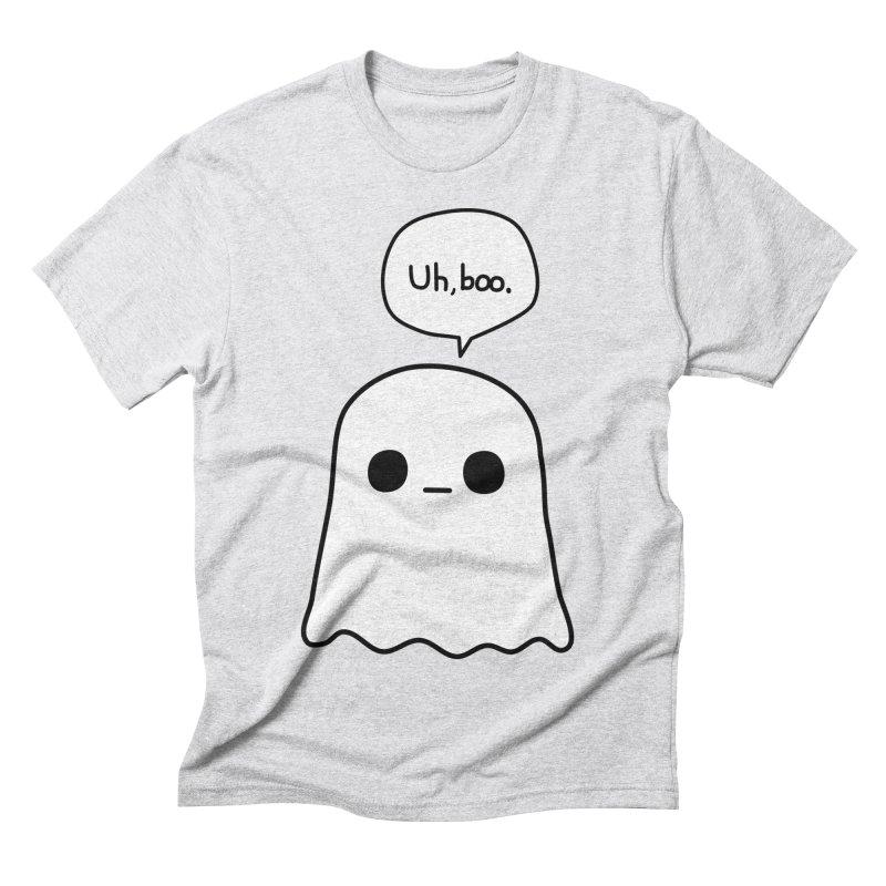 Awkward Ghost Men's Triblend T-Shirt by oneweirddude's Artist Shop