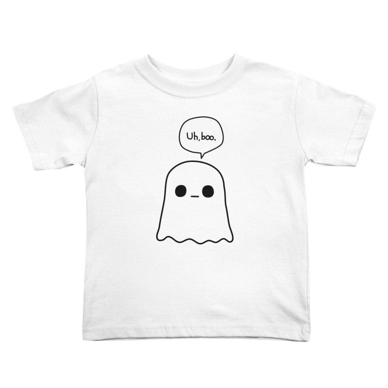 Awkward Ghost Kids Toddler T-Shirt by oneweirddude's Artist Shop