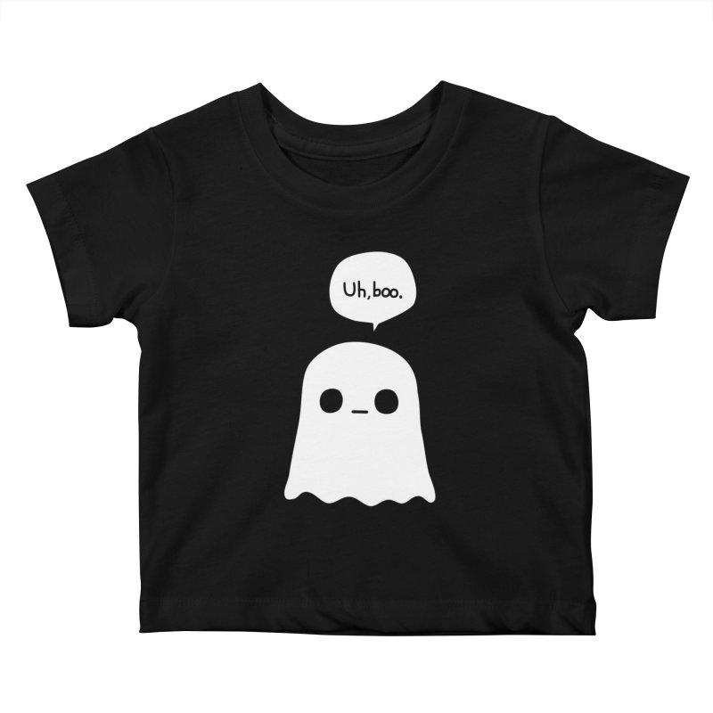 Awkward Ghost Kids Baby T-Shirt by oneweirddude's Artist Shop