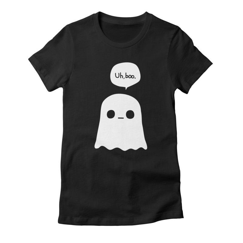 Awkward Ghost Women's T-Shirt by oneweirddude's Artist Shop